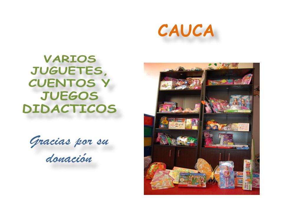 VARIOS JUGUETES, CUENTOS Y JUEGOS DIDACTICOS Gracias por su donación