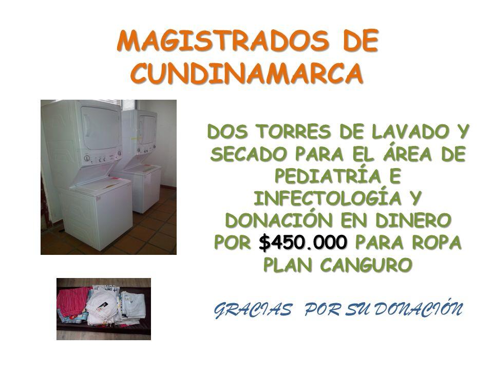 MAGISTRADOS DE CUNDINAMARCA