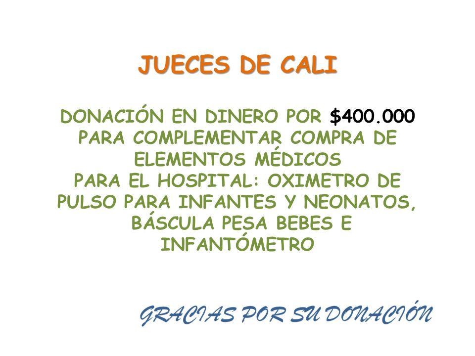JUECES DE CALI