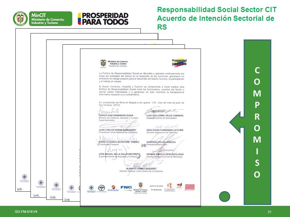 C O M P R I S Responsabilidad Social Sector CIT