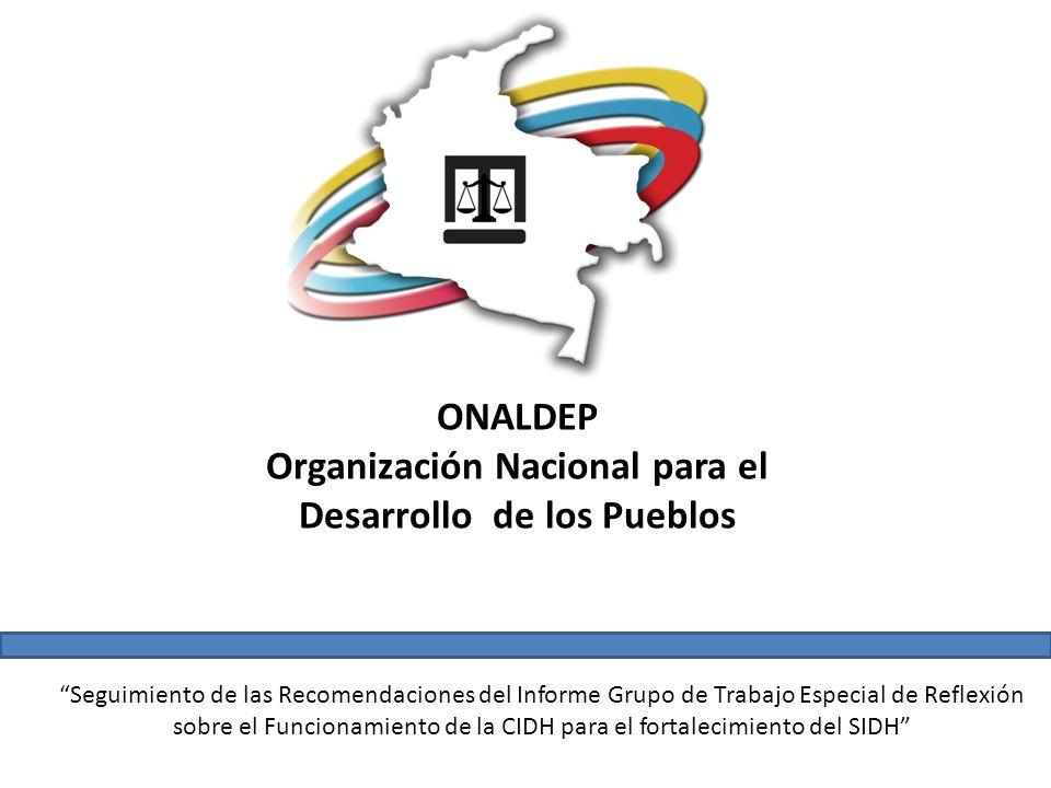 Organización Nacional para el Desarrollo de los Pueblos