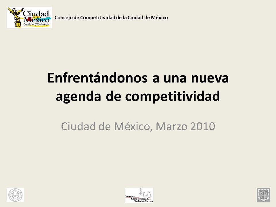 Enfrentándonos a una nueva agenda de competitividad