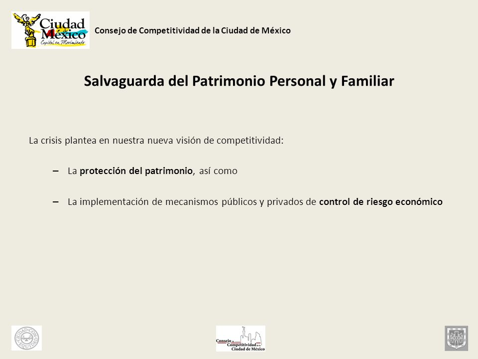 Salvaguarda del Patrimonio Personal y Familiar