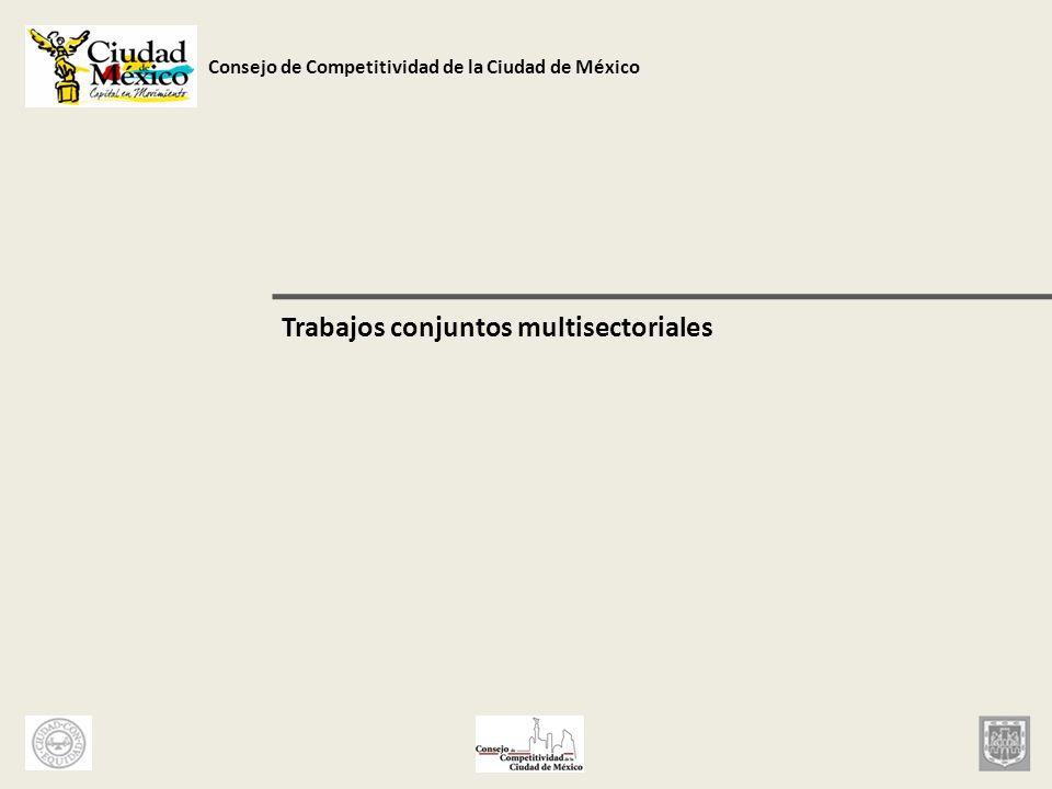 Trabajos conjuntos multisectoriales