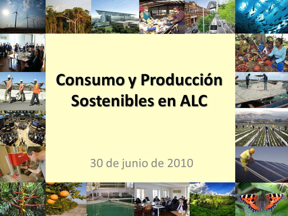 Consumo y Producción Sostenibles en ALC