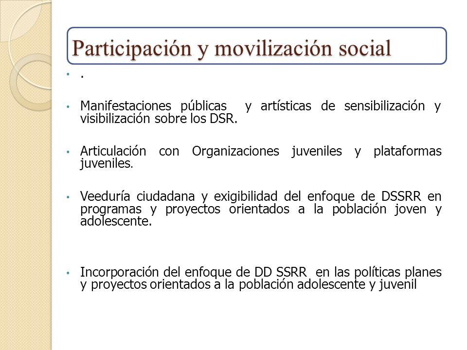 Participación y movilización social