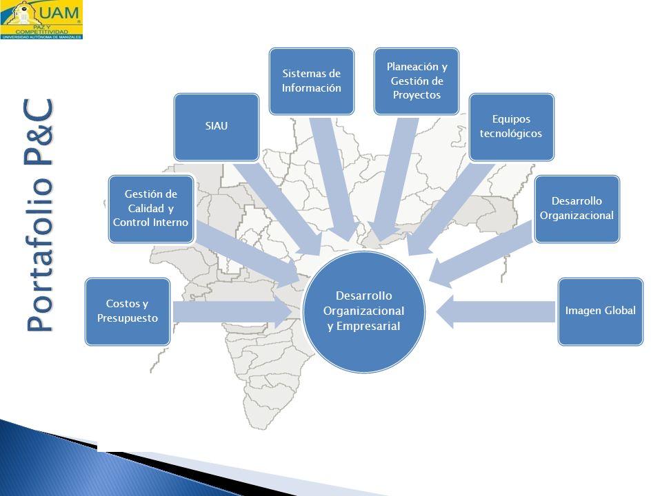 15/03/09 Desarrollo Organizacional y Empresarial. Costos y Presupuesto. Gestión de Calidad y Control Interno.
