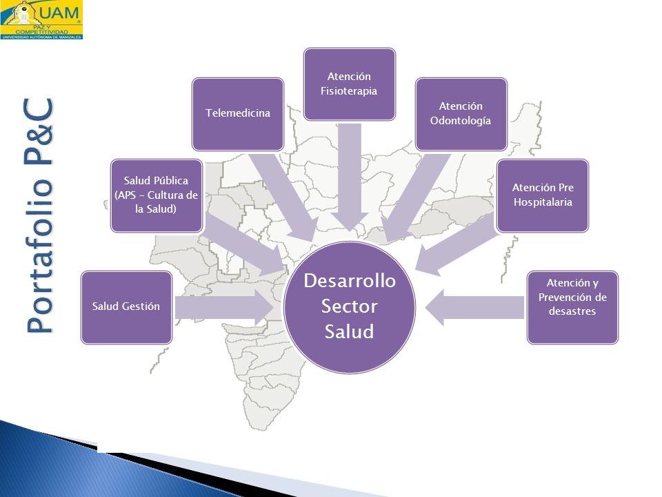 Portafolio P&C Desarrollo Sector Salud Salud Gestión