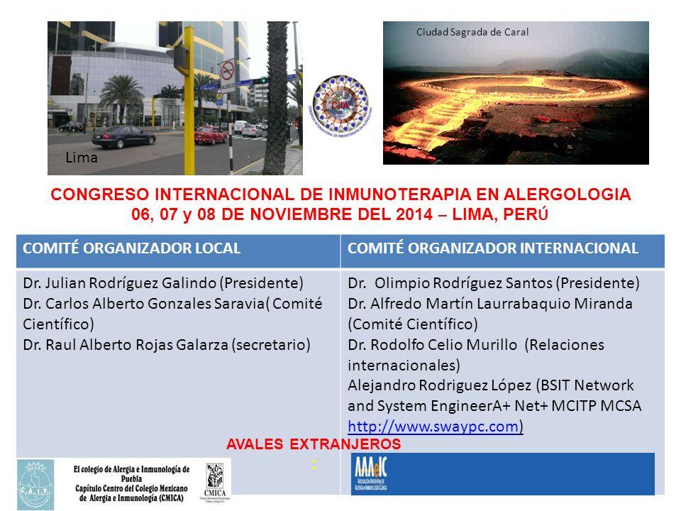 CONGRESO INTERNACIONAL DE INMUNOTERAPIA EN ALERGOLOGIA