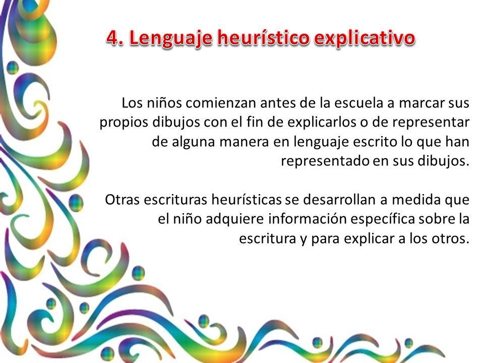 4. Lenguaje heurístico explicativo