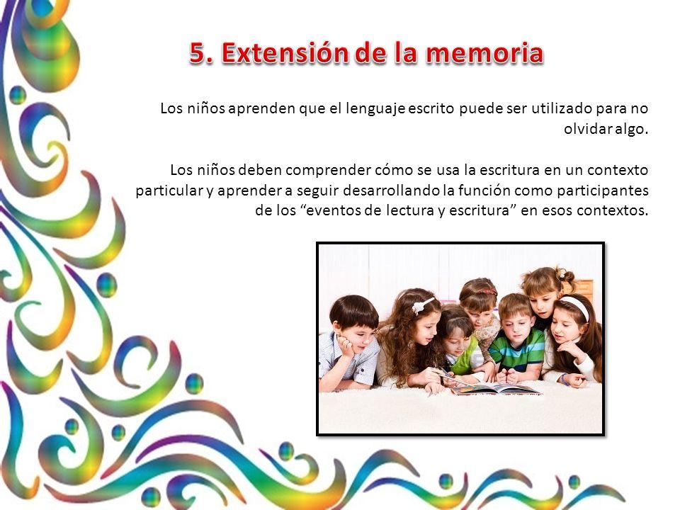 5. Extensión de la memoria