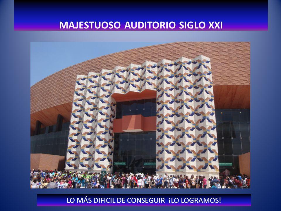 Reuniones con Comité Anfitrión MAJESTUOSO AUDITORIO SIGLO XXI M