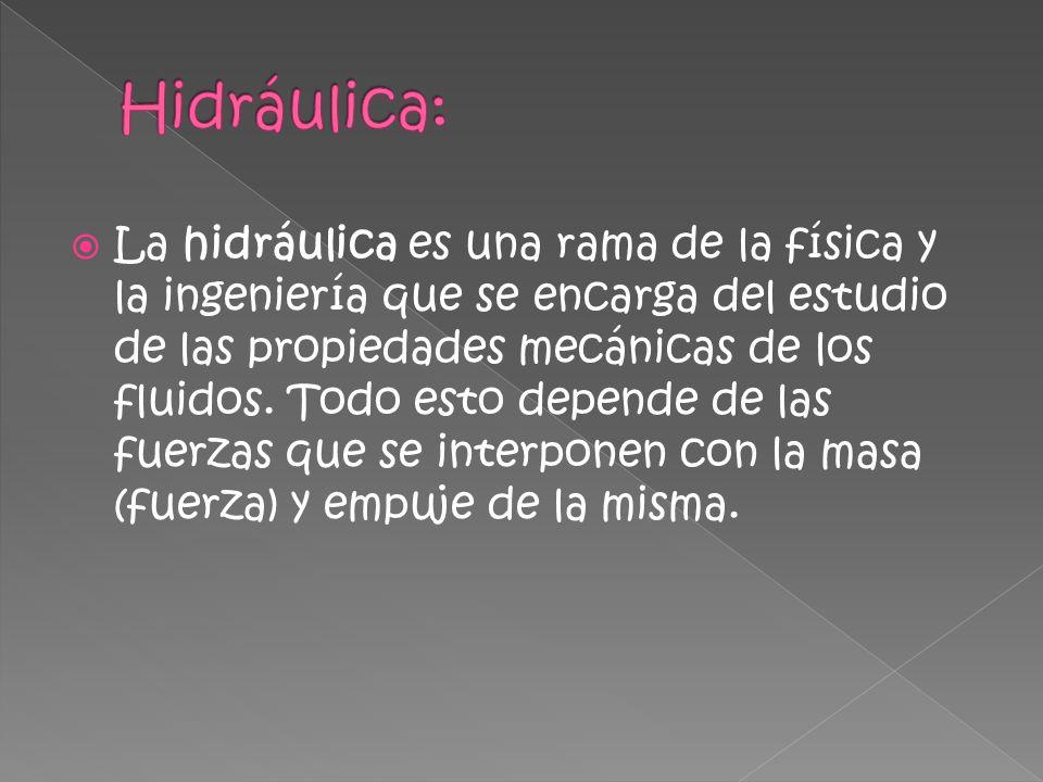 Hidráulica: