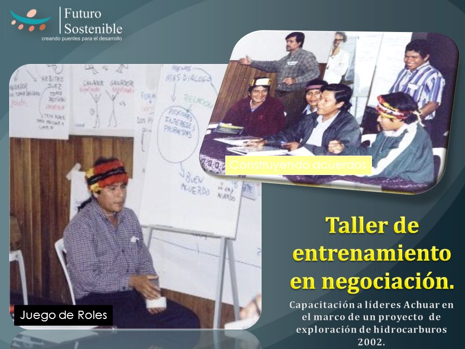 Taller de entrenamiento en negociación.