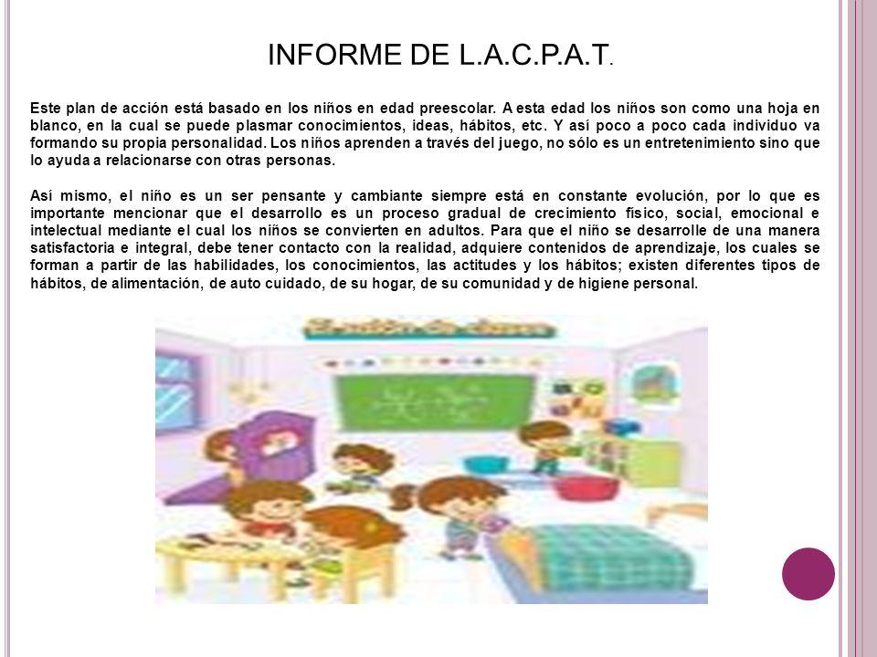 INFORME DE L.A.C.P.A.T.