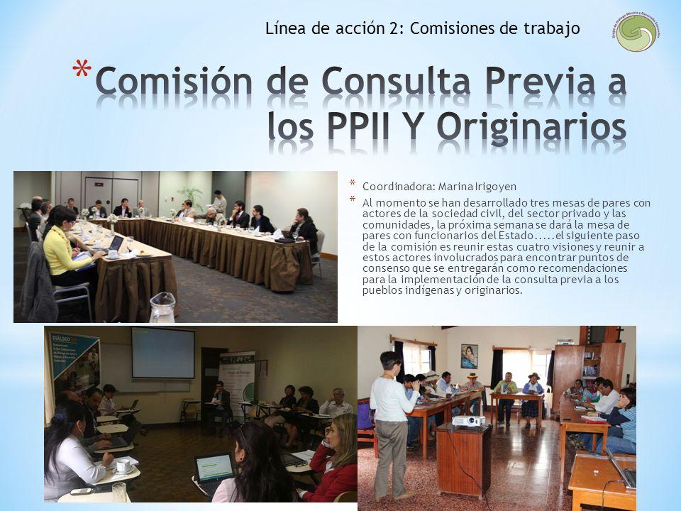 Comisión de Consulta Previa a los PPII Y Originarios