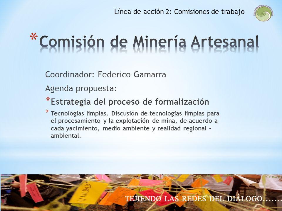 Comisión de Minería Artesanal