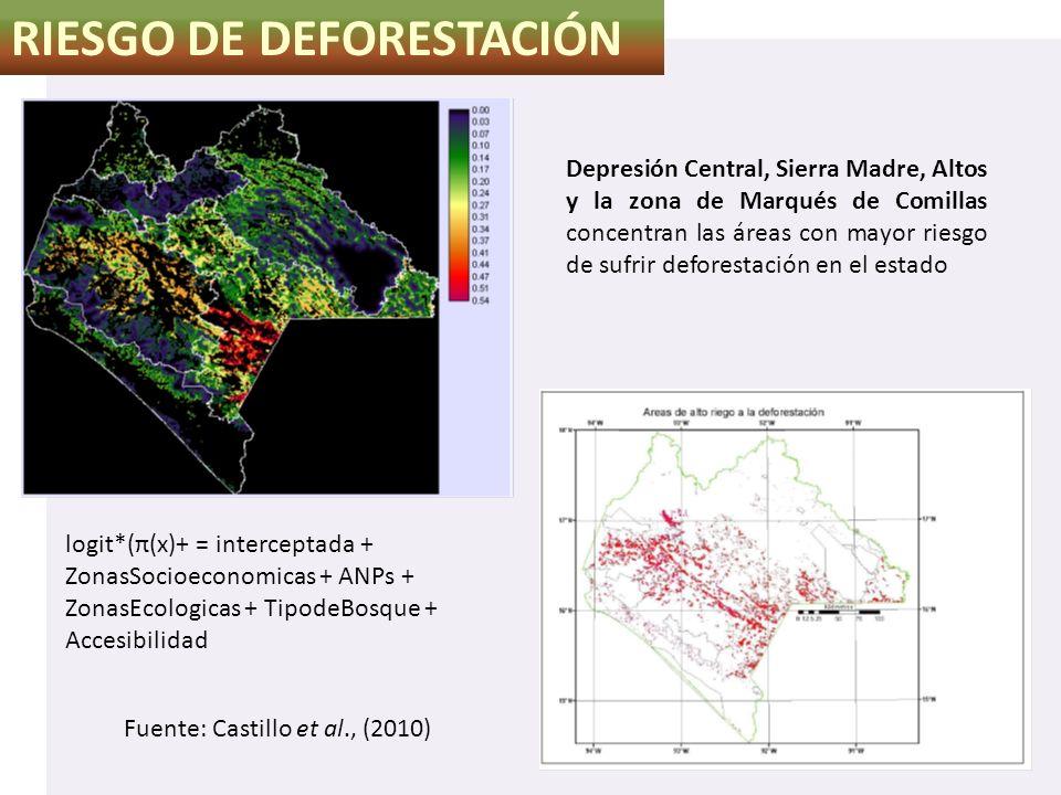 RIESGO DE DEFORESTACIÓN