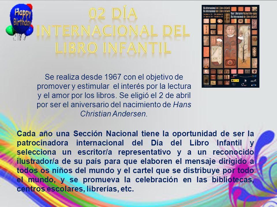 02 Día Internacional del Libro Infantil