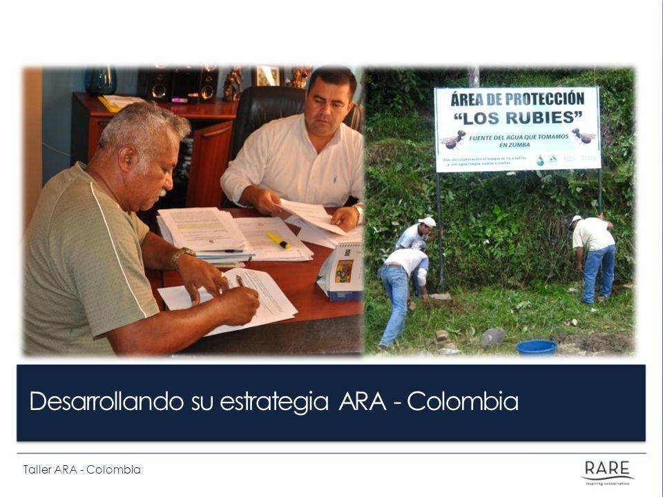 Desarrollando su estrategia ARA - Colombia