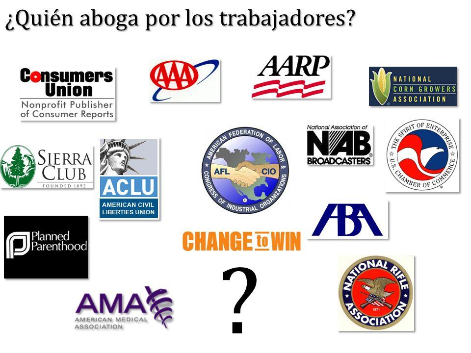 ¿Quién aboga por los trabajadores