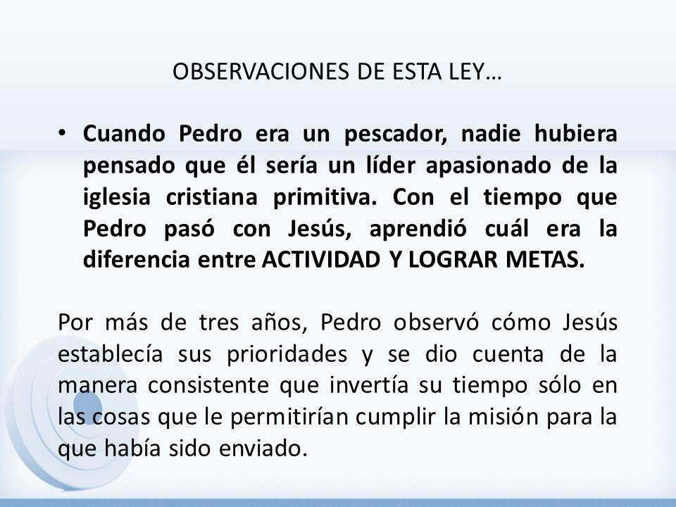 OBSERVACIONES DE ESTA LEY…