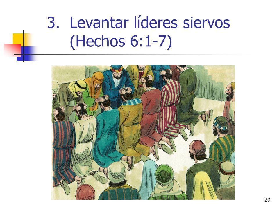 Levantar líderes siervos (Hechos 6:1-7)