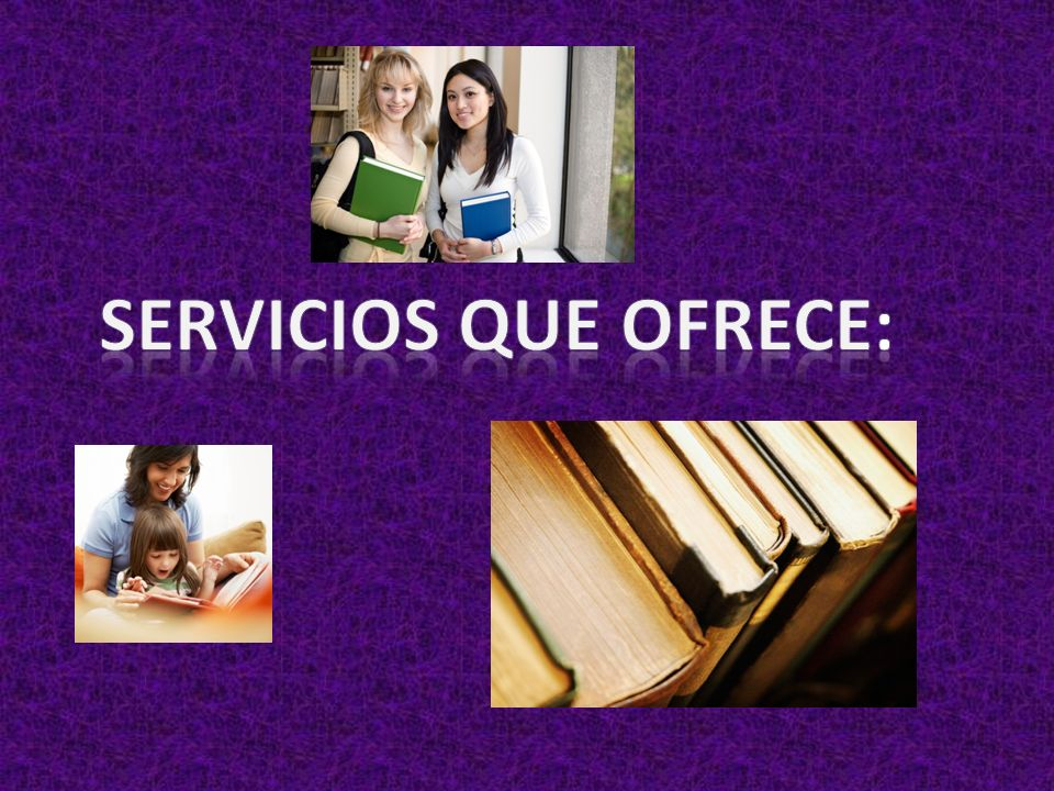 Servicios que ofrece: