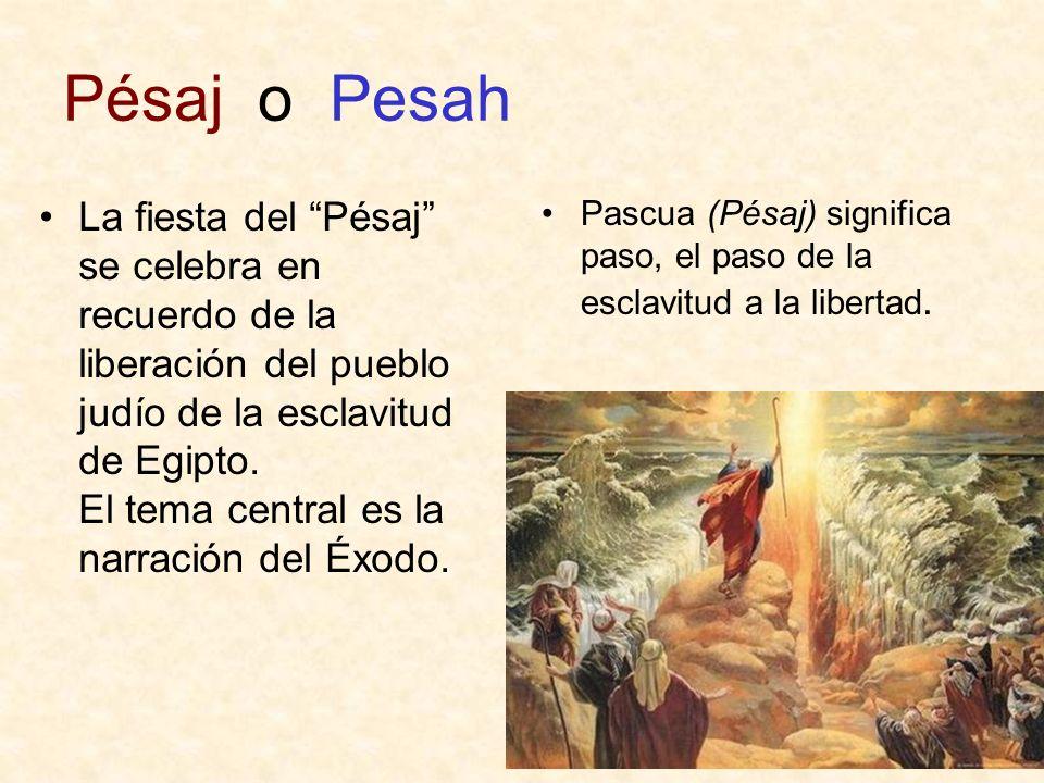 Pésaj o Pesah