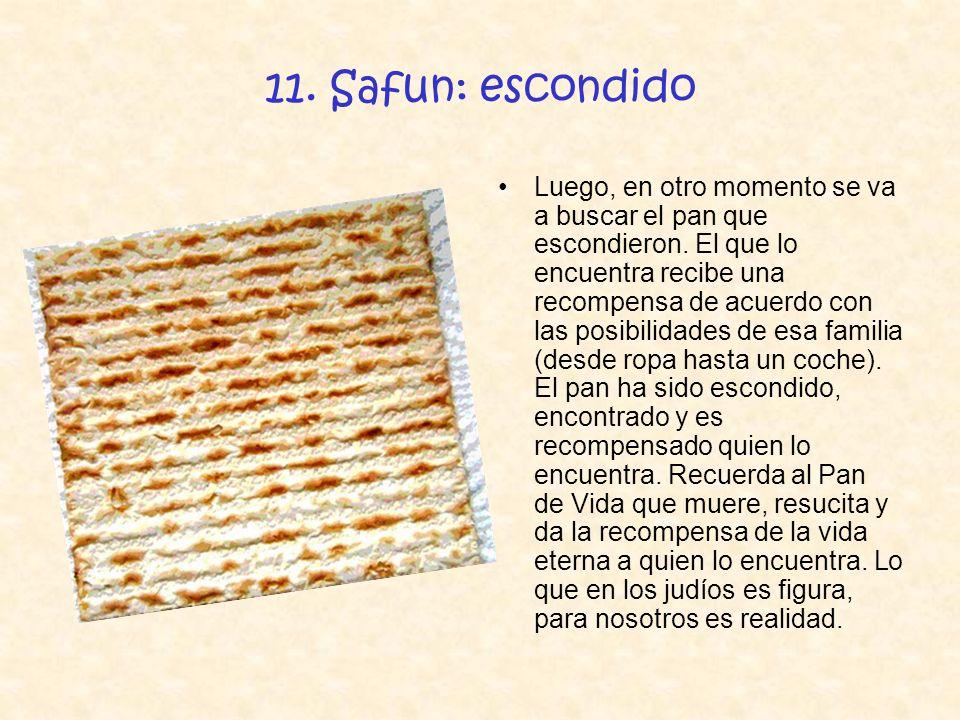 11. Safun: escondido