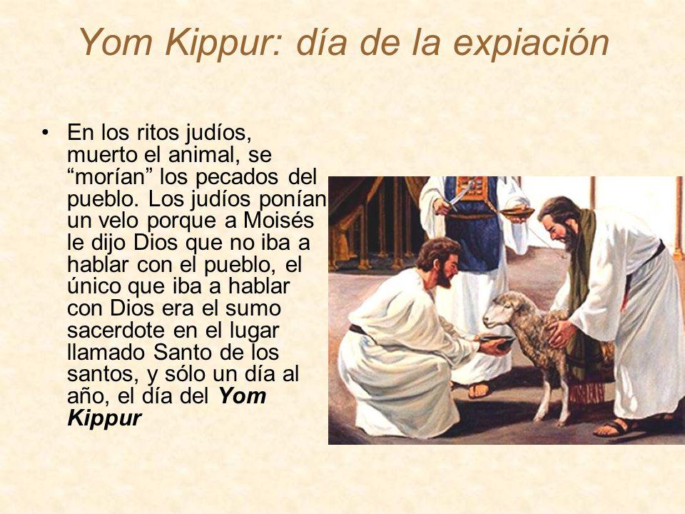 Yom Kippur: día de la expiación