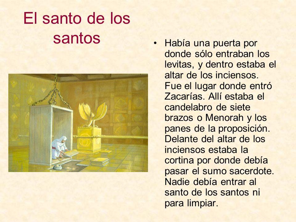 El santo de los santos