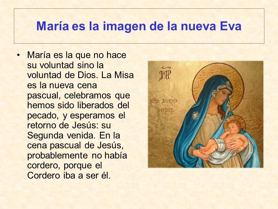 María es la imagen de la nueva Eva