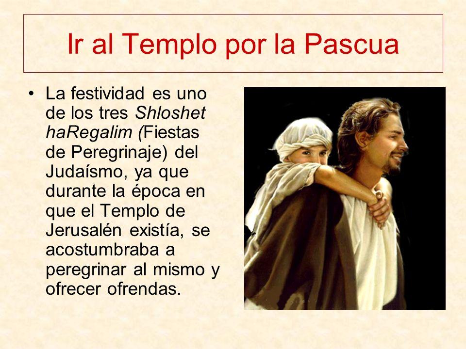 Ir al Templo por la Pascua