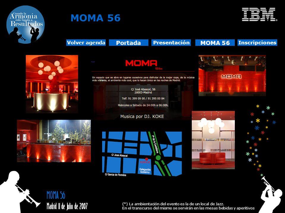 MOMA 56 Portada MOMA 56 Presentación Inscripciones Volver agenda