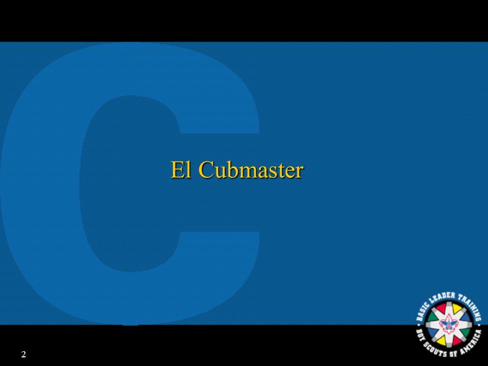 El Cubmaster