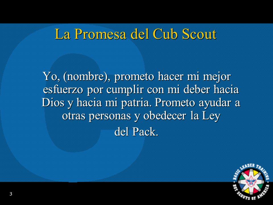La Promesa del Cub Scout