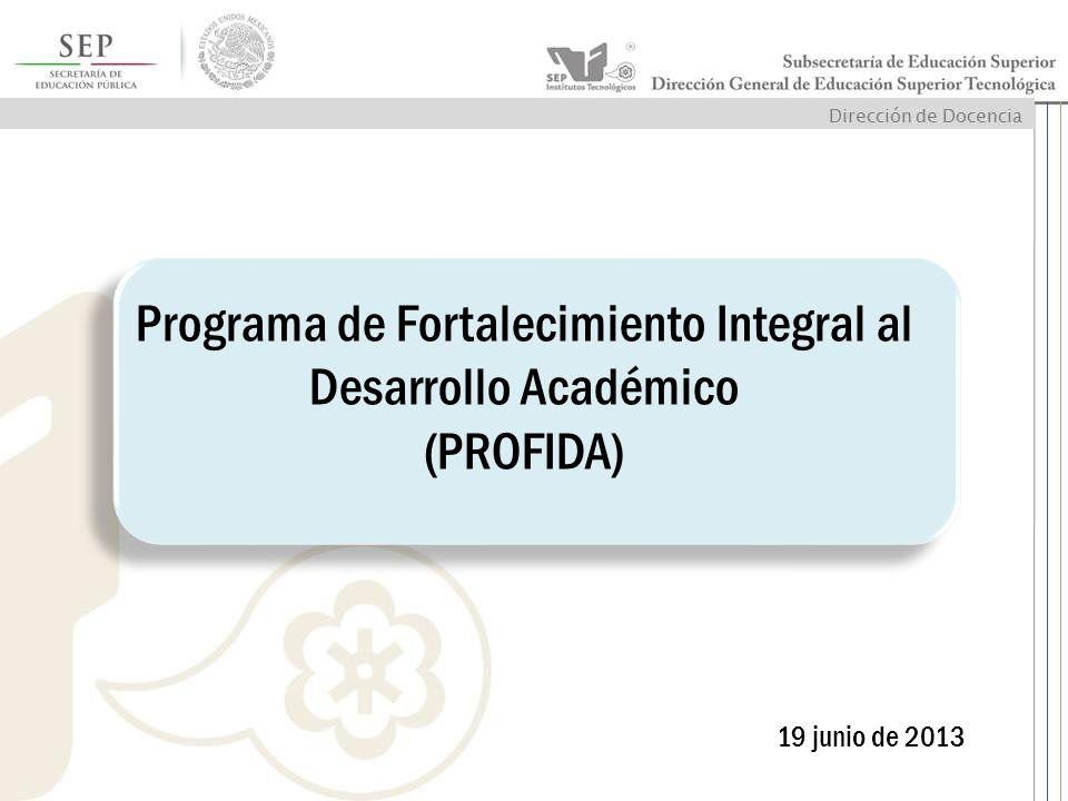 Programa de Fortalecimiento Integral al