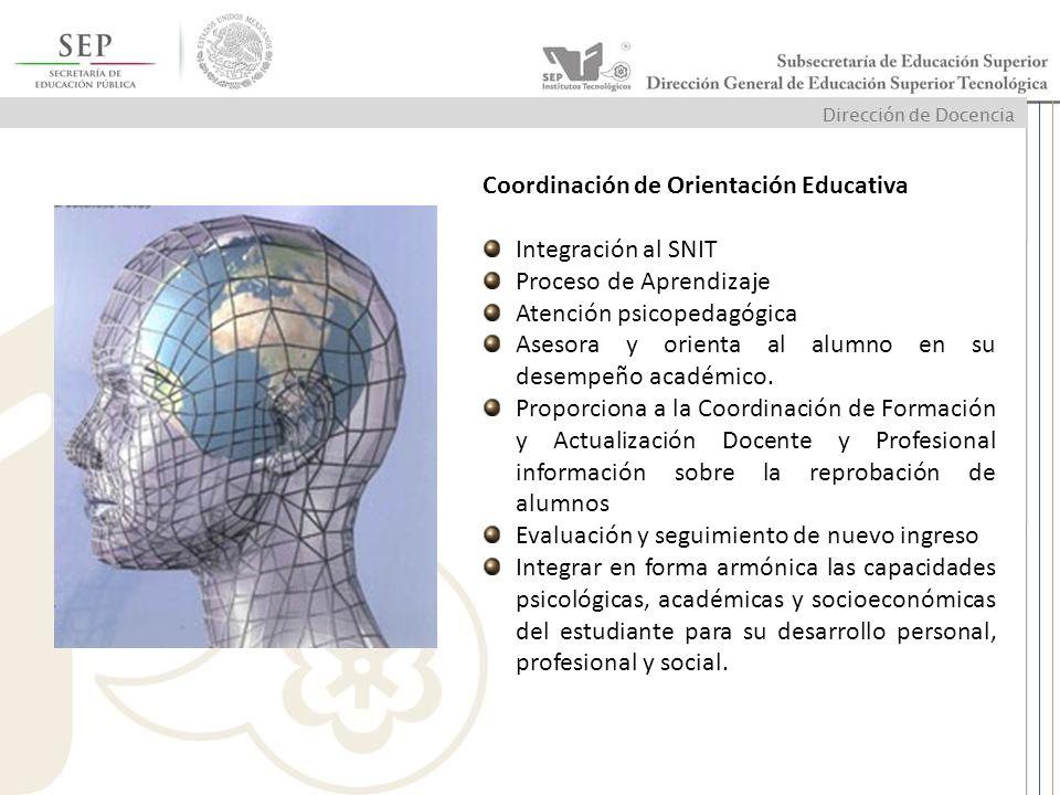 Coordinación de Orientación Educativa