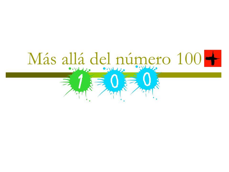 Más allá del número 100