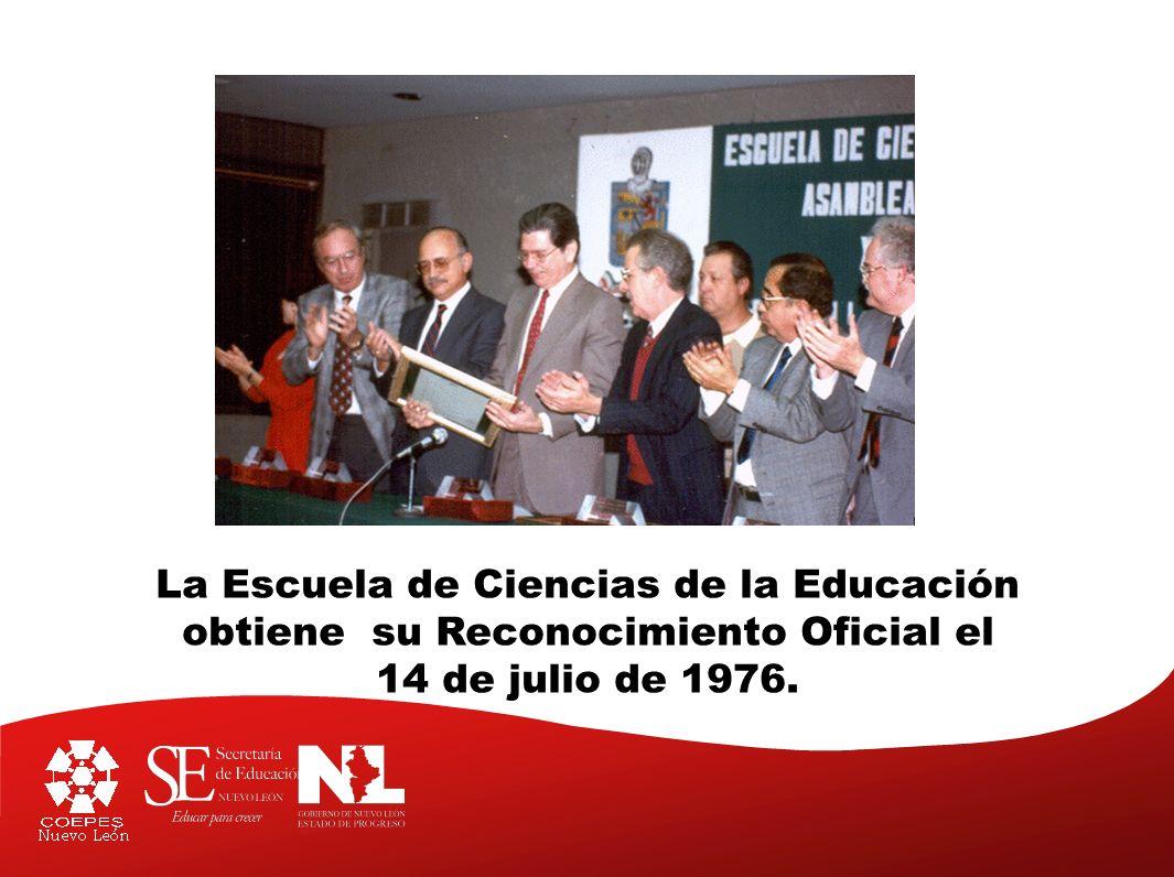 La Escuela de Ciencias de la Educación
