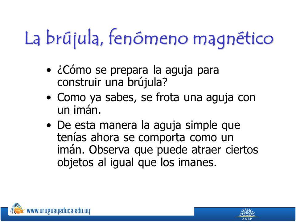 La brújula, fenómeno magnético