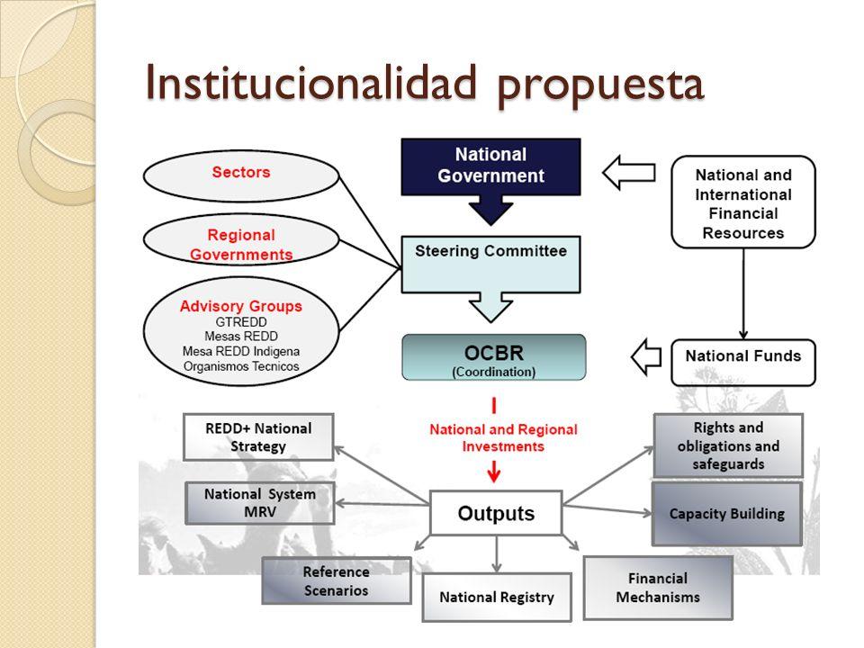 Institucionalidad propuesta