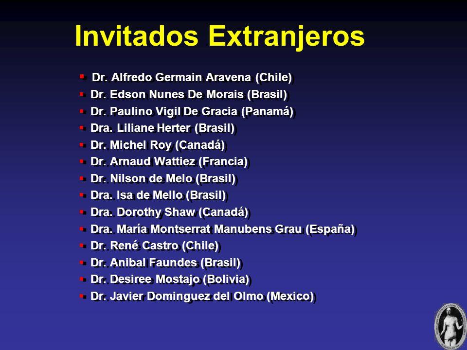 Invitados Extranjeros