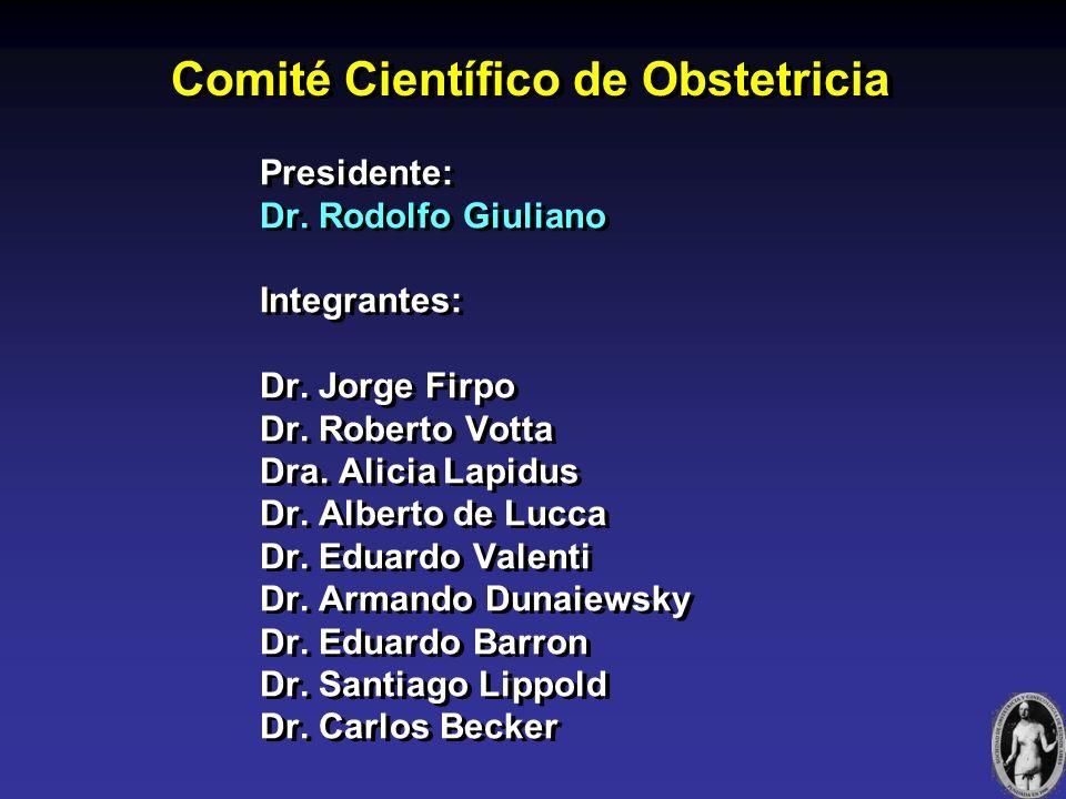 Comité Científico de Obstetricia