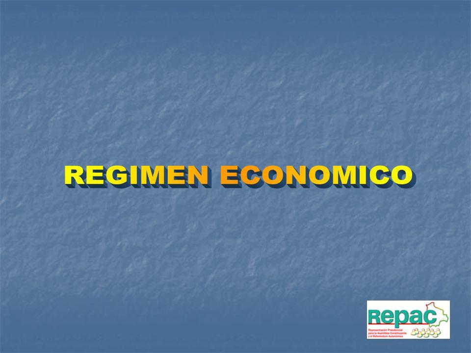 REGIMEN ECONOMICO