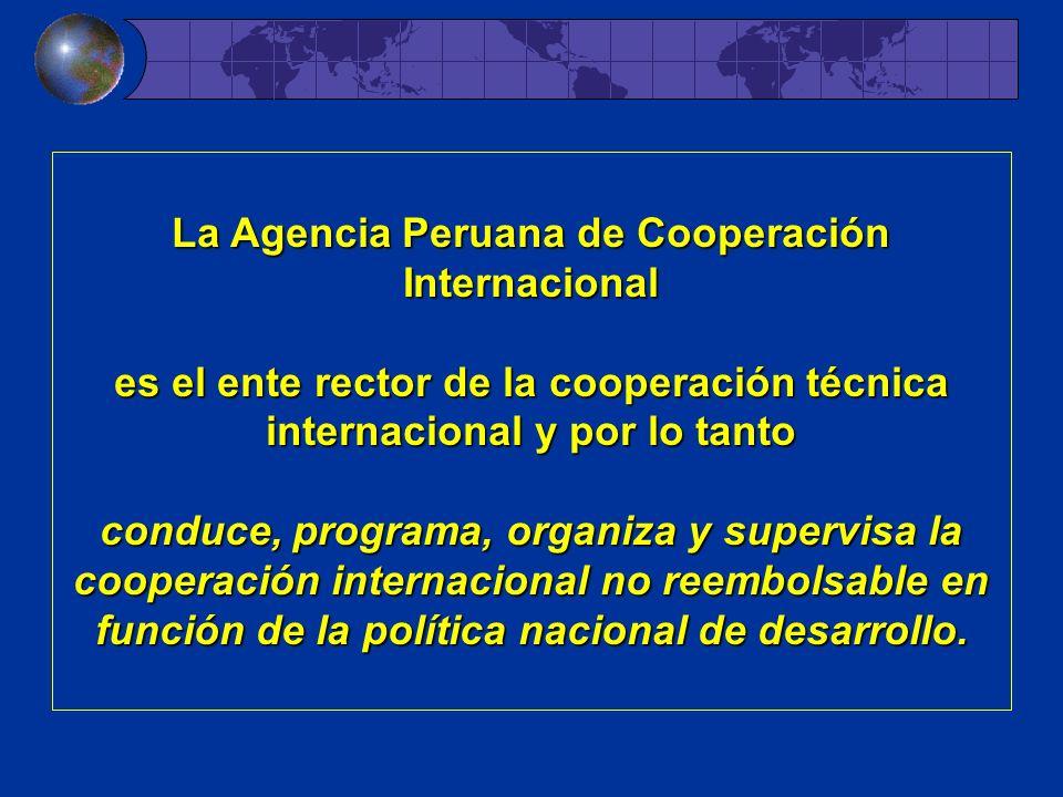La Agencia Peruana de Cooperación Internacional