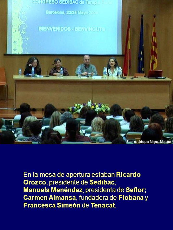 En la mesa de apertura estaban Ricardo Orozco, presidente de Sedibac;