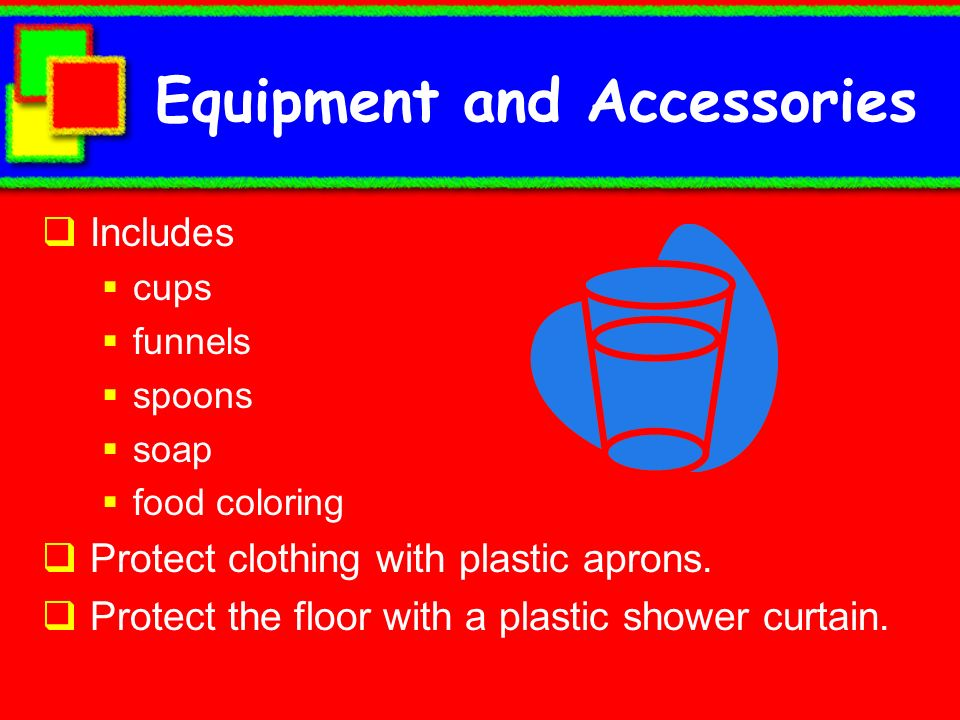 Equipment and Accessories