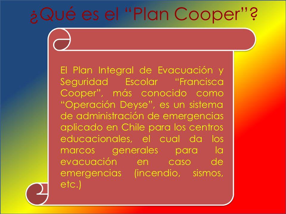 ¿Qué es el Plan Cooper